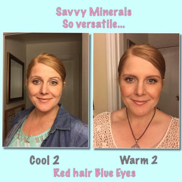 versatile red hair Cool 2 warm 2